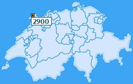 PLZ 2900 Schweiz