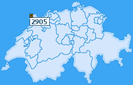 PLZ 2905 Schweiz