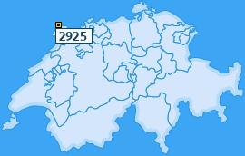 PLZ 2925 Schweiz