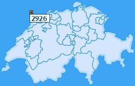 PLZ 2926 Schweiz