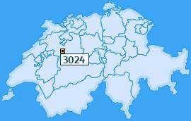 PLZ 3024 Schweiz