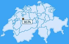 PLZ 3074 Schweiz