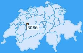 PLZ 3086 Schweiz