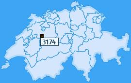 PLZ 3174 Schweiz