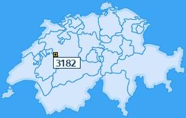 PLZ 3182 Schweiz
