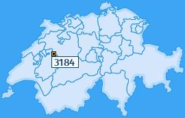 PLZ 3184 Schweiz