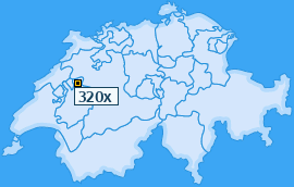 PLZ 320 Schweiz