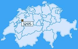 PLZ 3205 Schweiz
