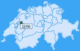 PLZ 3206 Schweiz