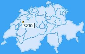 PLZ 3210 Schweiz