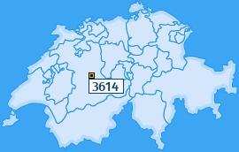 PLZ 3614 Schweiz