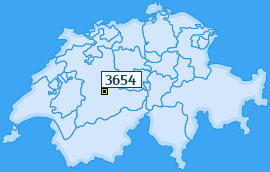 PLZ 3654 Schweiz