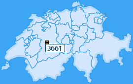 PLZ 3661 Schweiz
