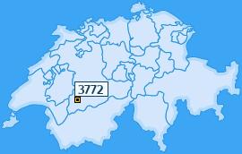 PLZ 3772 Schweiz