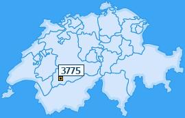PLZ 3775 Schweiz