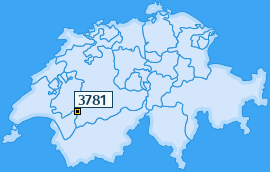 PLZ 3781 Schweiz
