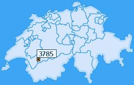 PLZ 3785 Schweiz