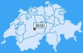 PLZ 3800 Schweiz