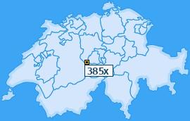 PLZ 385 Schweiz