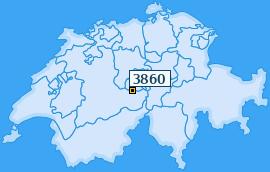 PLZ 3860 Schweiz