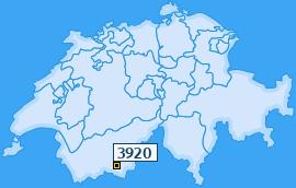 PLZ 3920 Schweiz