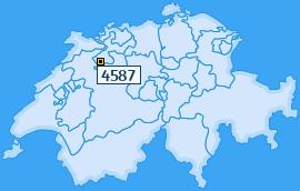PLZ 4587 Schweiz