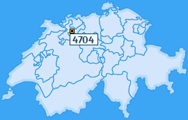 PLZ 4704 Schweiz
