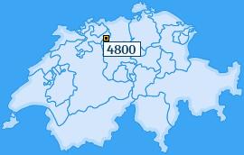PLZ 4800 Schweiz