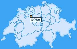 PLZ 494 Schweiz
