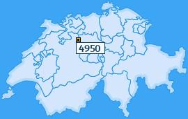 PLZ 4950 Schweiz