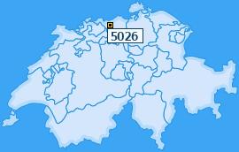 PLZ 5026 Schweiz