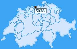 PLZ 5028 Schweiz