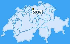 PLZ 5034 Schweiz