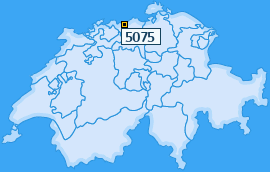 PLZ 5075 Schweiz