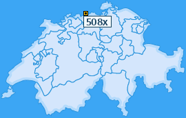 PLZ 508 Schweiz