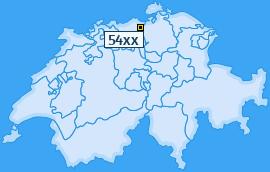 PLZ 54 Schweiz