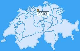 PLZ 5502 Schweiz