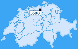 PLZ 5608 Schweiz