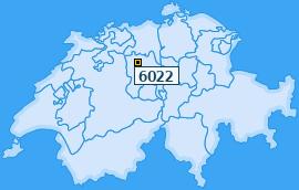 PLZ 6022 Schweiz