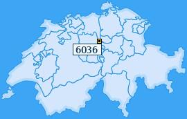 PLZ 6036 Schweiz
