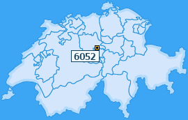 PLZ 6052 Schweiz
