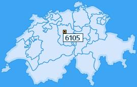 PLZ 6105 Schweiz