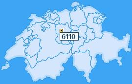PLZ 6110 Schweiz