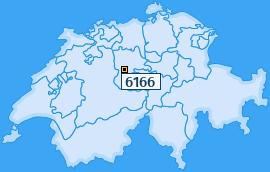 PLZ 6166 Schweiz