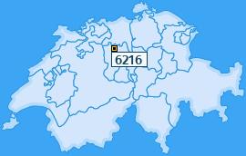 PLZ 6216 Schweiz