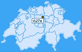 PLZ 627 Schweiz
