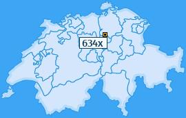 PLZ 634 Schweiz