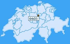 PLZ 6403 Schweiz