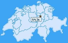 PLZ 643 Schweiz