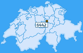 PLZ 6442 Schweiz